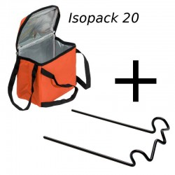 Pack Isopack 20 et son support de potence