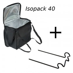 Pack Isopack 40 with the stem mount