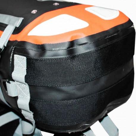 Fond renforcé du sac étanche drybackpack 40 hPa