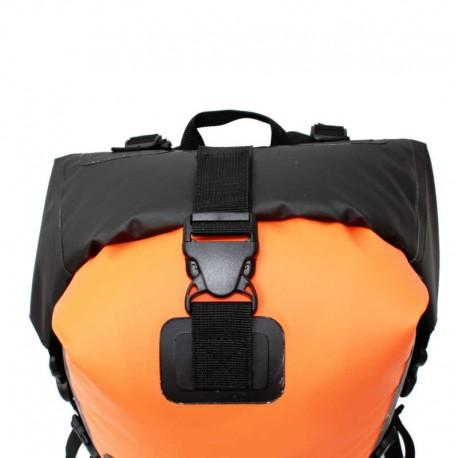 Fermeture étanche du sac étanche drybackpack 40 hPa