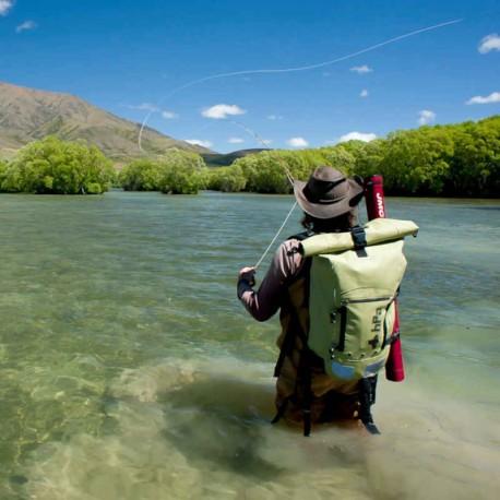 Sac à dos étanche pour la pêche