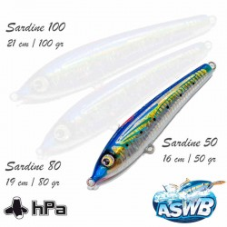 Leurre ASWB Sardine 50