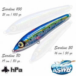 Leurre ASWB Sardine 80