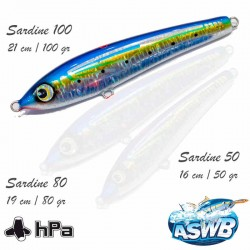 ASWB Lure Sardine 100