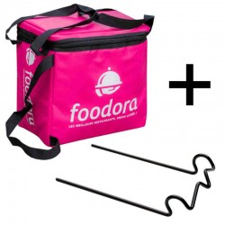Déstockage Sac Isotherme Foodora et son rack