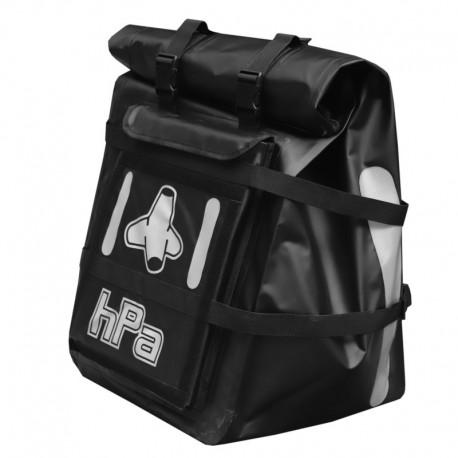 Fermeture par zip du sac à dos de livraison Messenger 100