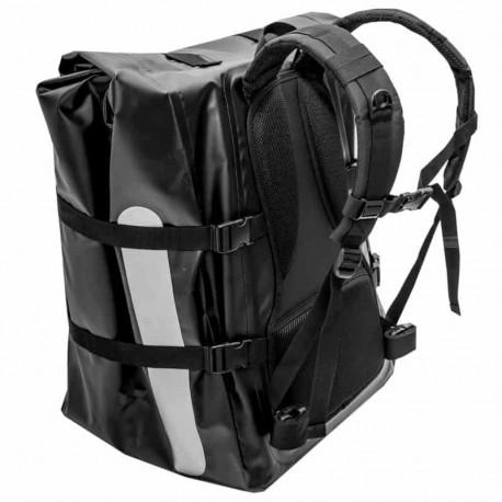 Fermeture roulée du sac à dos de livraison Messenger 100