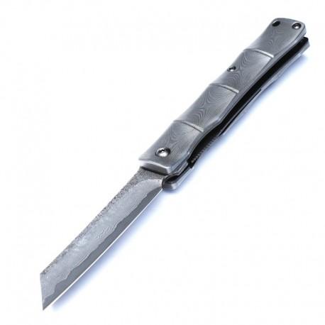 Higonokami Damascus Knife