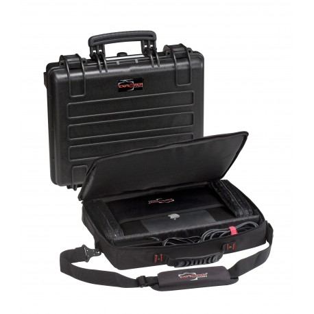 Suitcase waterproof EXPLORER CASE 4412C with bag Notebook PC44
