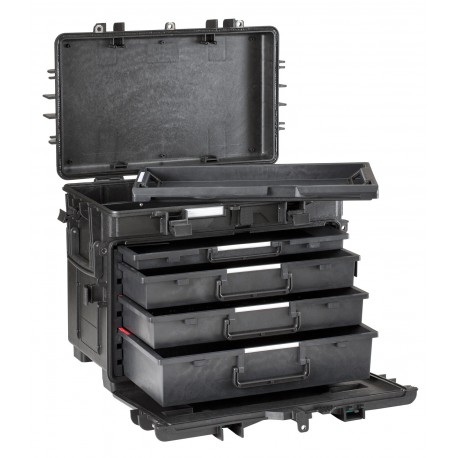 Suitcase waterproof EXPLORER CASE 5140KT02-AH with drawers