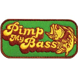 Moral Patch Pimp My Bass Green