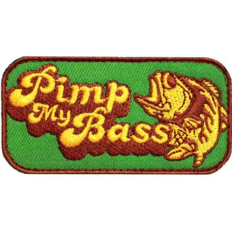 Patch Velcro Pimp My Bass Vert