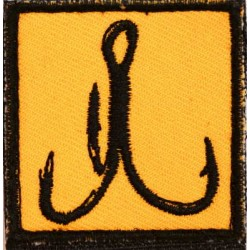 Moral Patch Anchor Orange