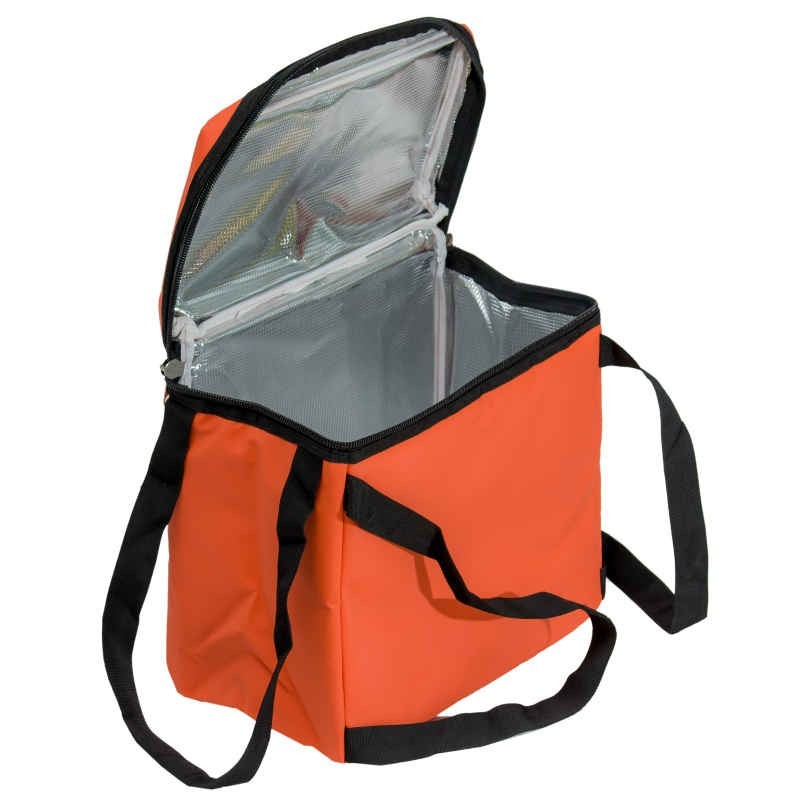 insulated delivery bag for bike courier